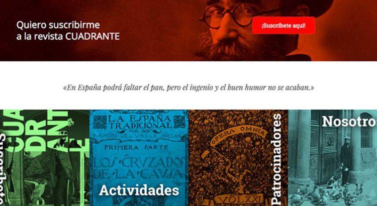 Nueva web Amigos de Valle-Inclán
