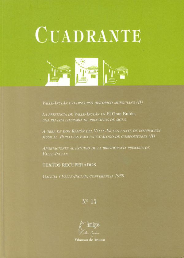 Portada Revista Cuadrante 14