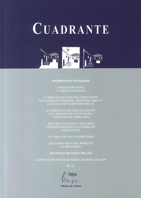 Portada Revista Cuadrante 21