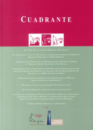 Portada Revista Cuadrante 22