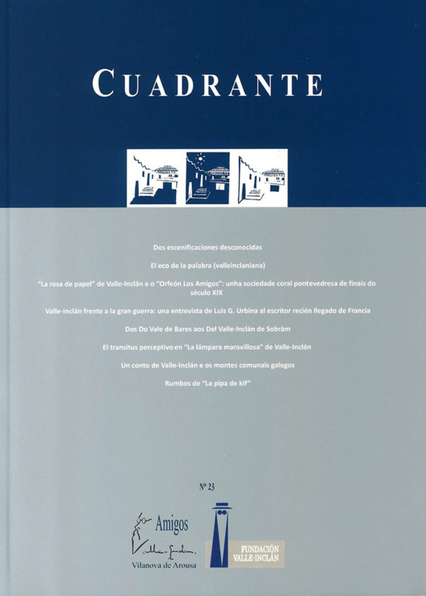 Portada Revista Cuadrante 23