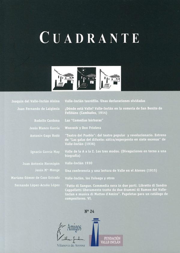 Portada Revista Cuadrante 24